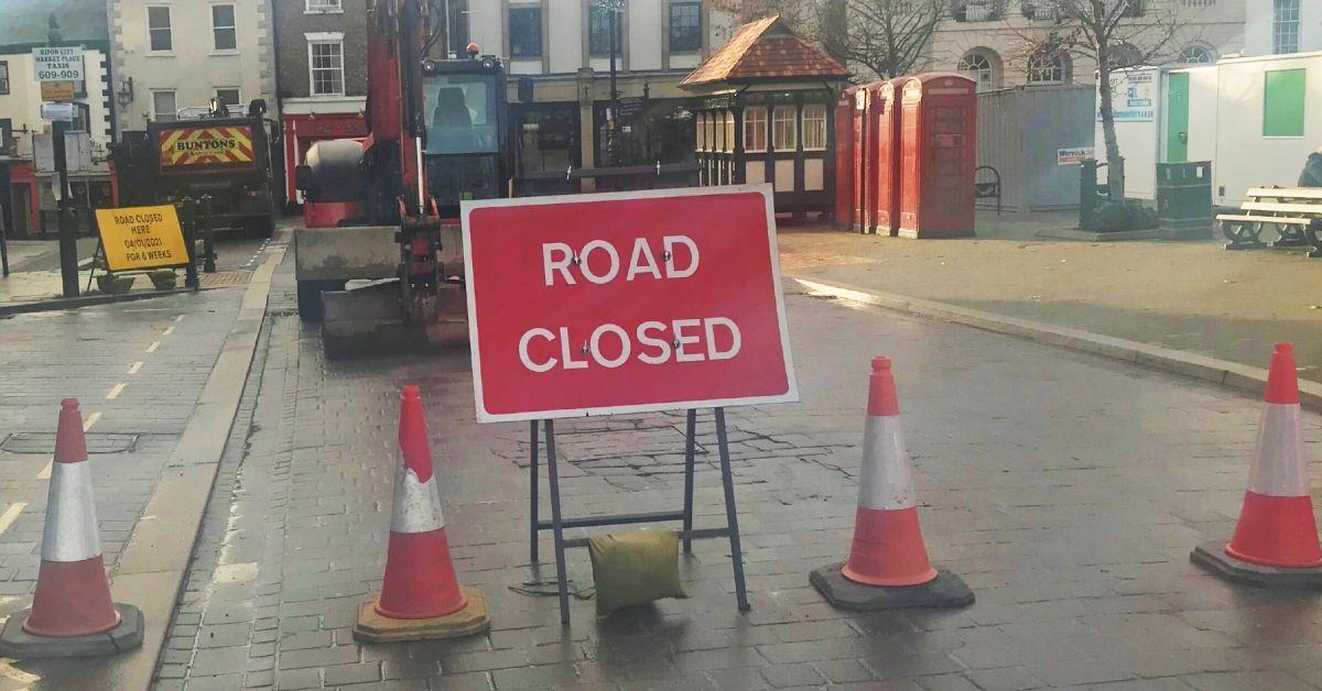 Ripon road closure to last six weeks