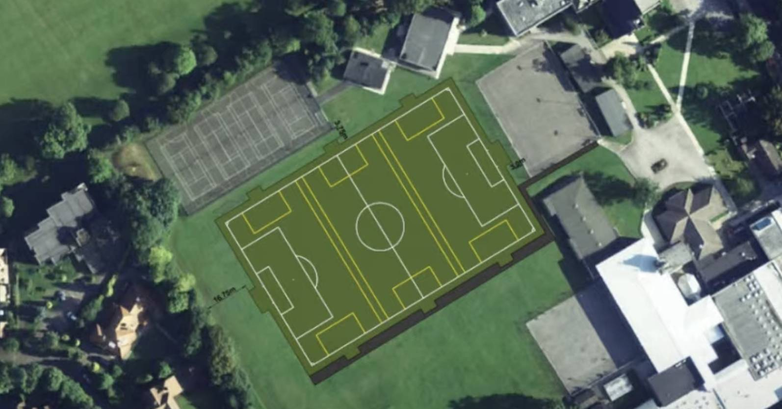 St Aidan's floodlit pitch plans approved