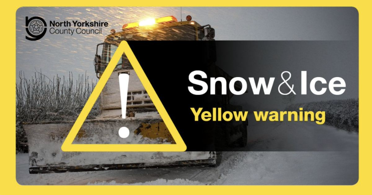 Weather warning issued for snow and ice tonight