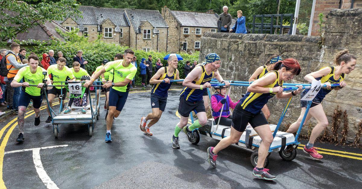 Knaresborough bed race 2019