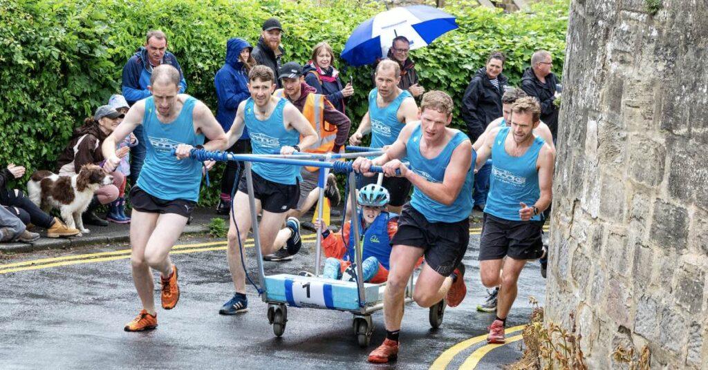 2019 Knaresborough bed race