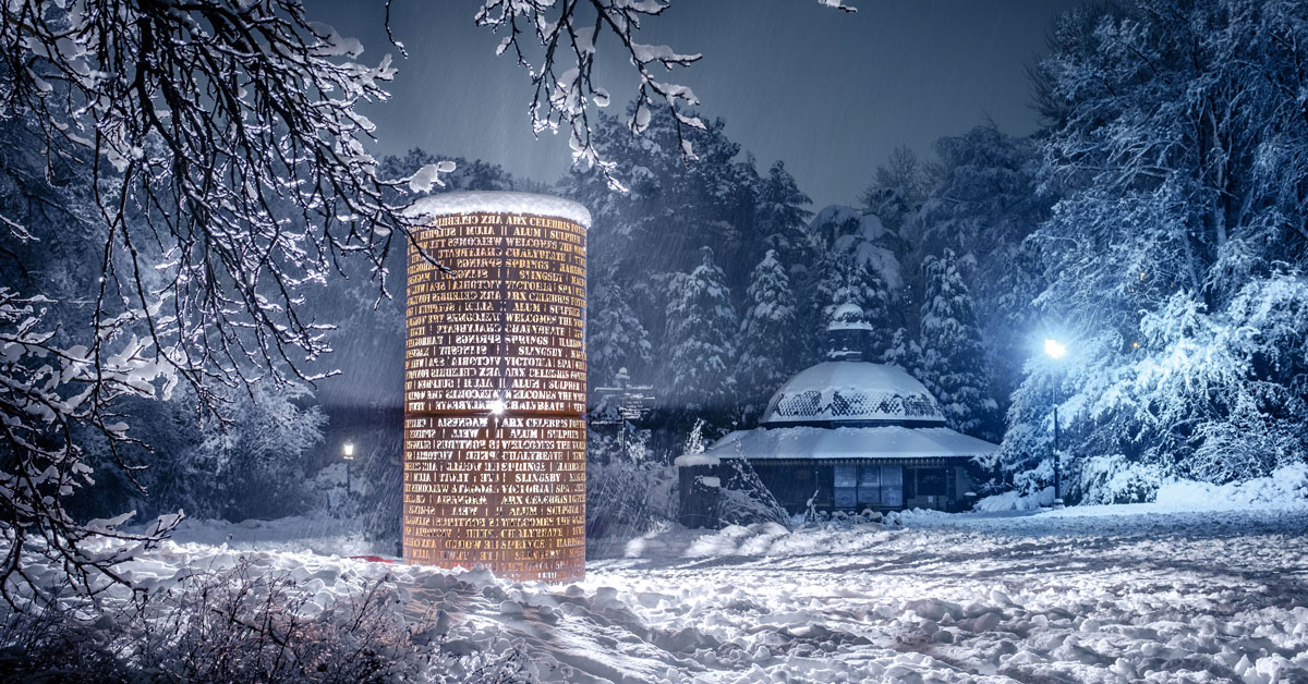 Photographers proud to put Harrogate in snow on show