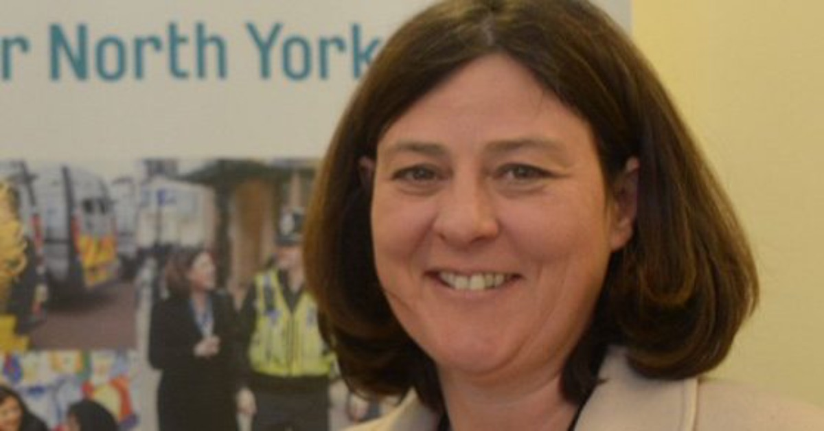 Julia Mulligan, Police, Fire and Crime Commissioner for North Yorkshire.