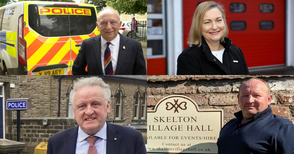 (From top left clockwise) Philip Allott, Alison Hume, James Barker and Keith Tordoff.
