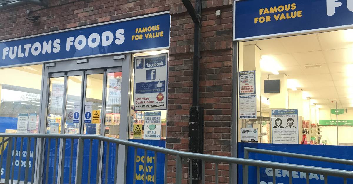 Photo of Fultons Foods entrance