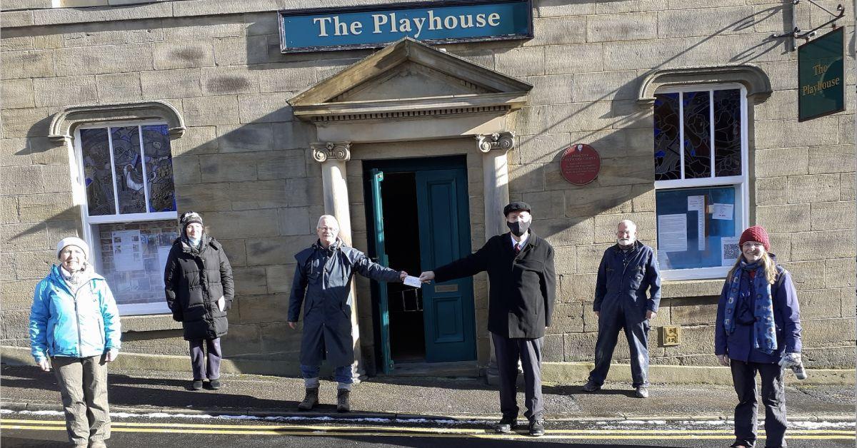 Building works underway at Pateley Playhouse