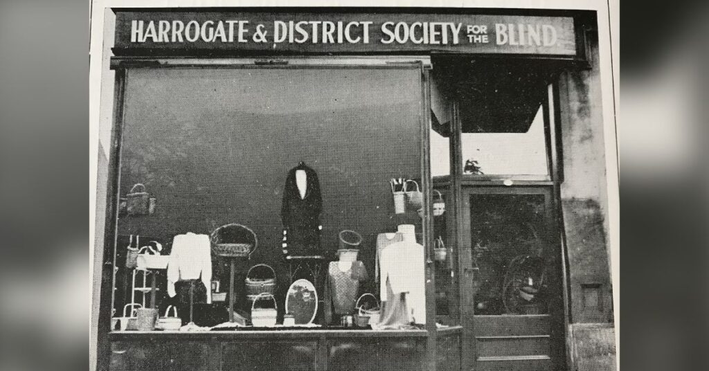 1930's charity shop front