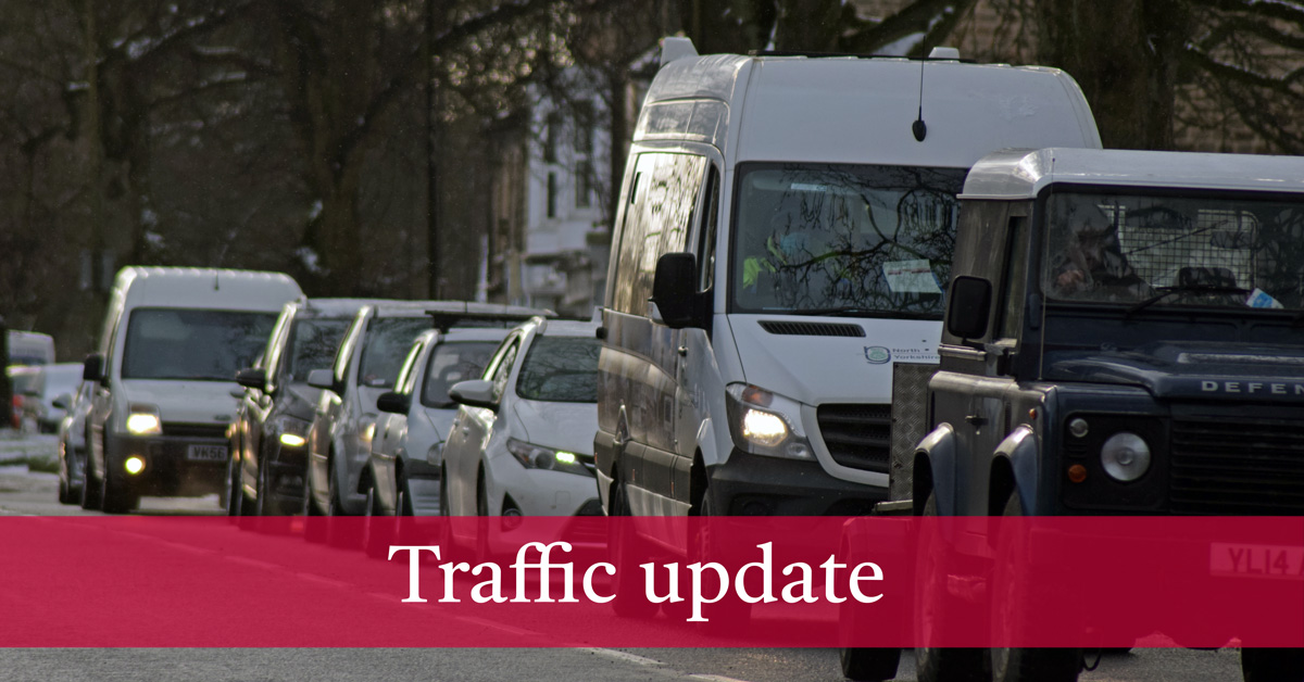 Live: Harrogate district traffic and travel