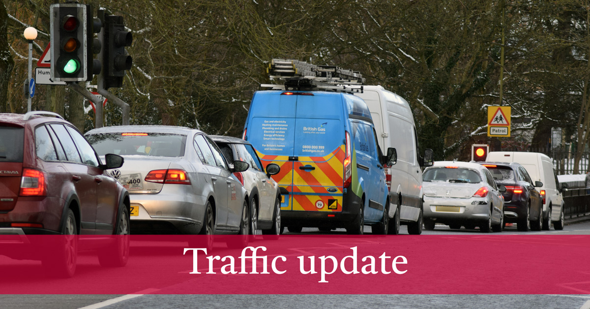 Serious accident closes A1 southbound between junction 47 and 48