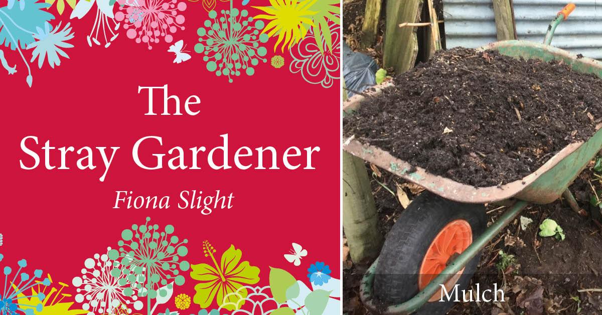 The Stray Gardener: mulch, mulch, mulch