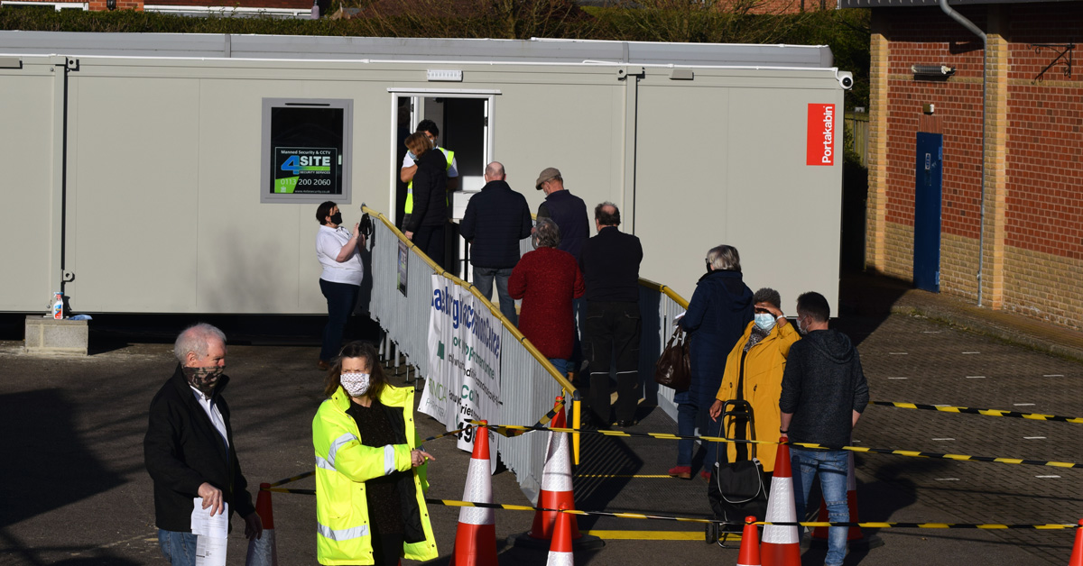 Knaresborough vaccine site cancels all appointments for today's clinic