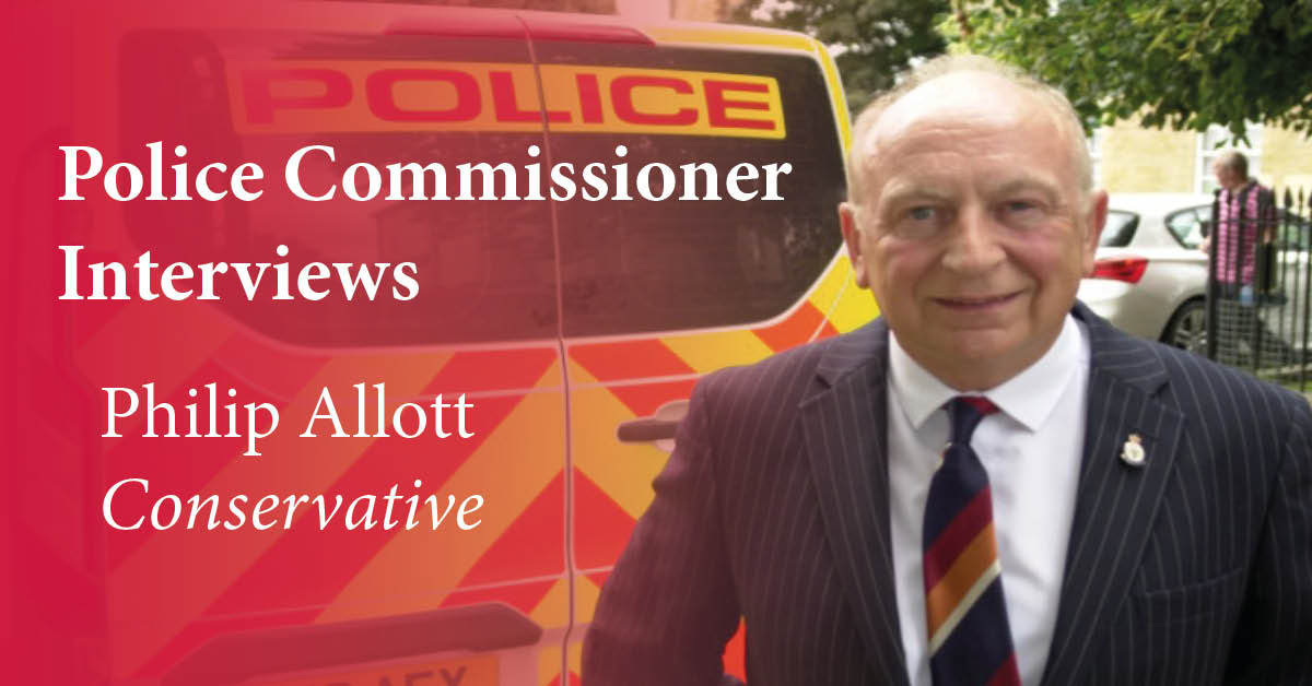 Conservative candidate for North Yorkshire Police, Fire and Crime Commissioner, Philip Allott.