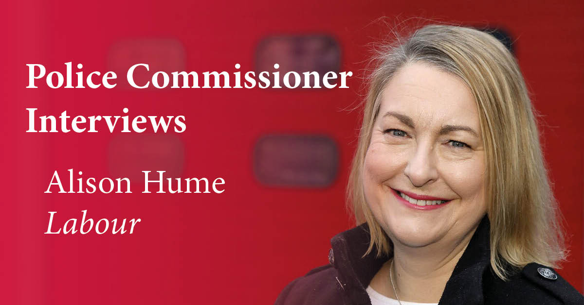 Alison Hume, Labour and Co-operative party candidate for North Yorkshire Police, Fire and Crime Commissioner.