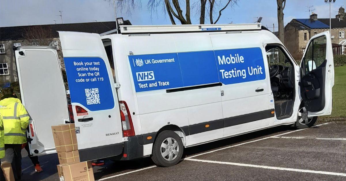 North Yorkshire mobile testing unit