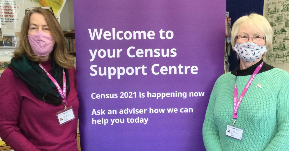 Census Support Centre open in Pateley Bridge today