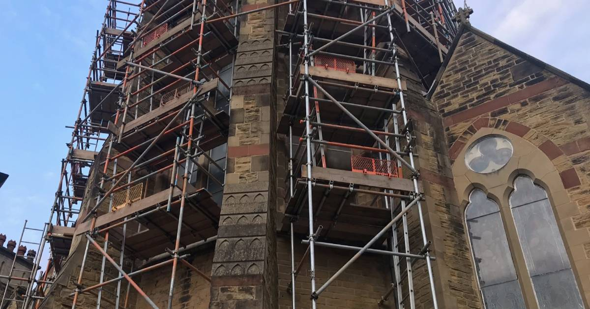 Wait for glass delays reopening of Ripon church