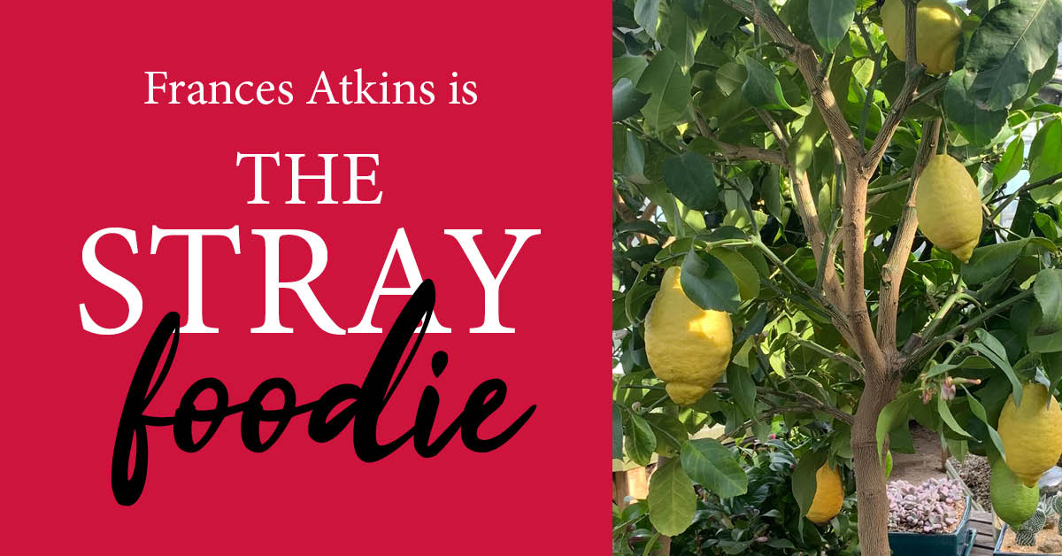 Stray Foodie recipe: for the love of lemons