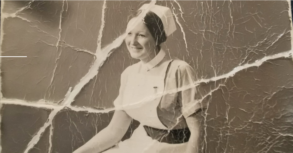Can you help Harrogate woman identify the mystery nurse?