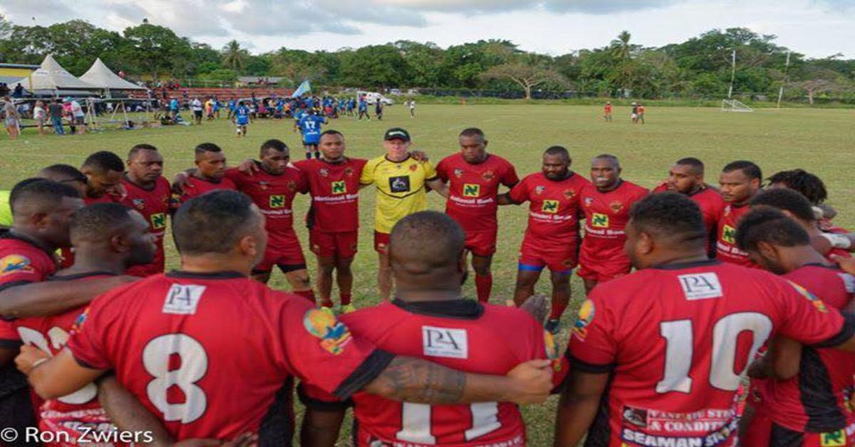 Harrogate rugby league club raises money for South Pacific island