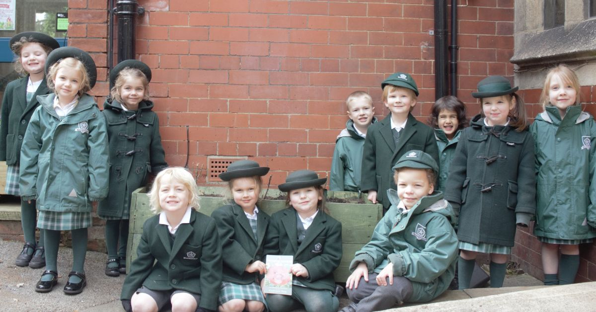 Brackenfield school pupils