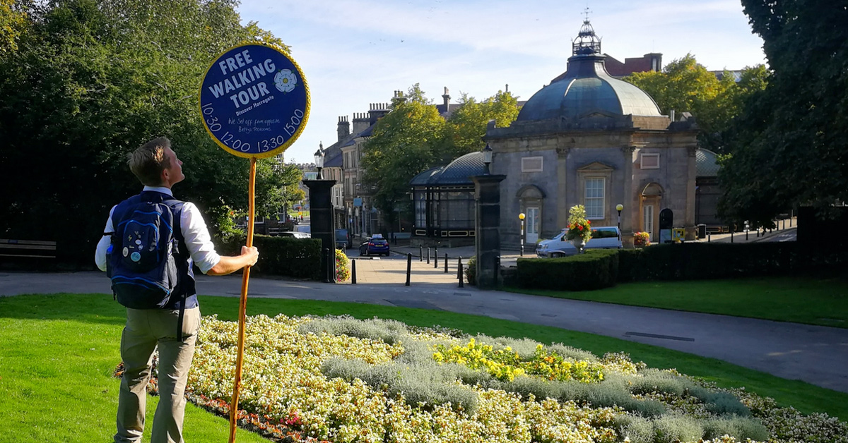 Free walking tours back with new focus on Harrogate people