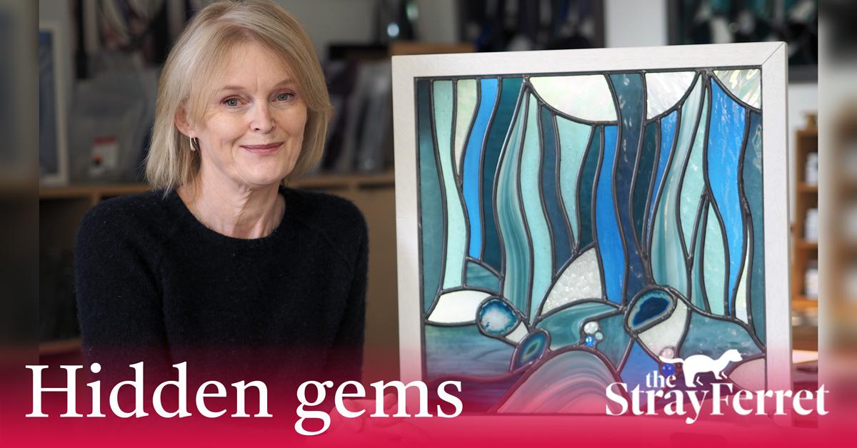 Stained glass artist a Harrogate 'hidden gem'