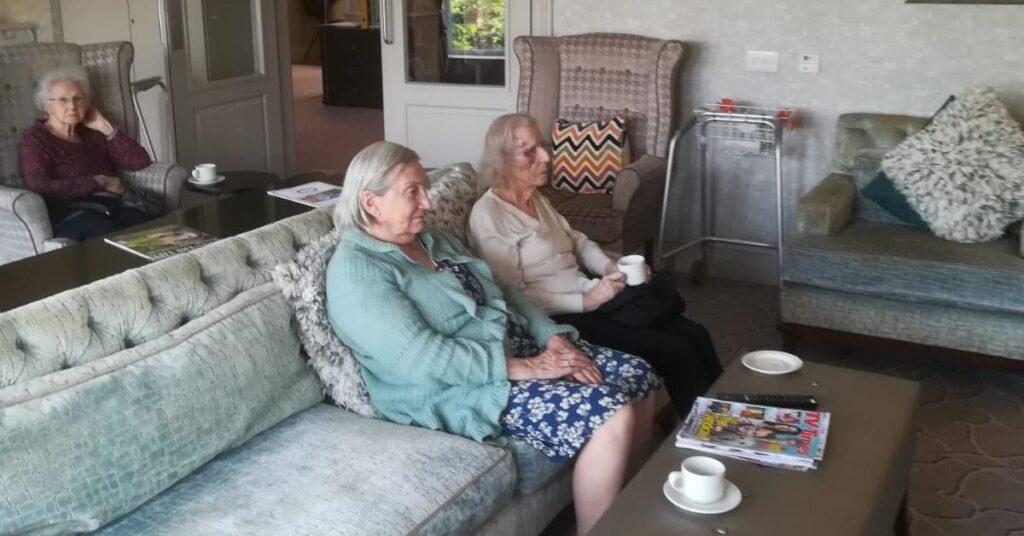 Knaresborough Manor residents
