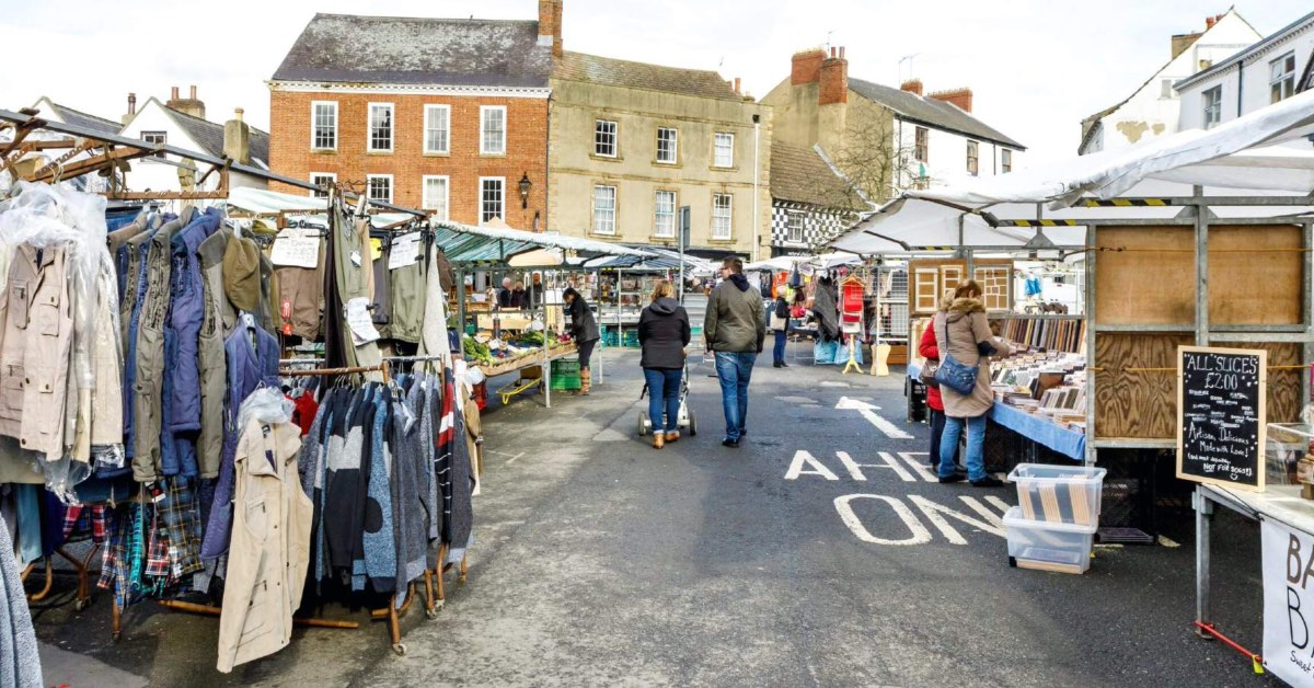Knaresborough Market.