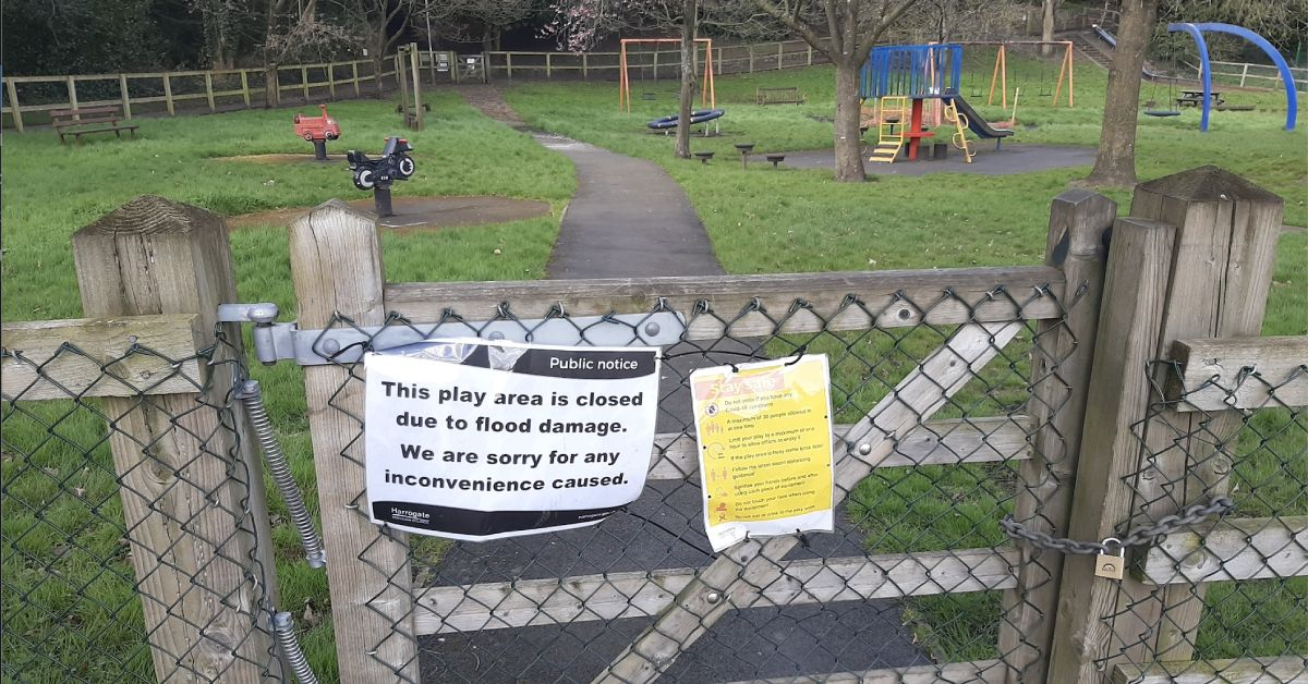 Masham parents frustrated as play area remains closed