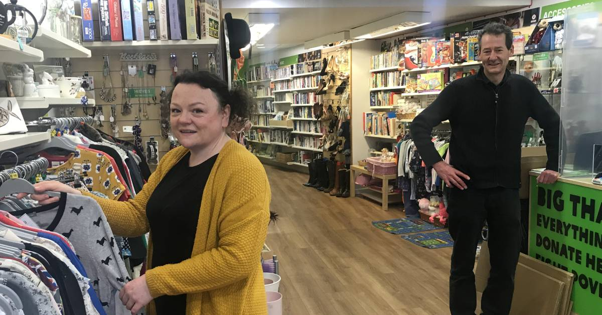 Ripon's Oxfam shop to reopen for the first time in a year