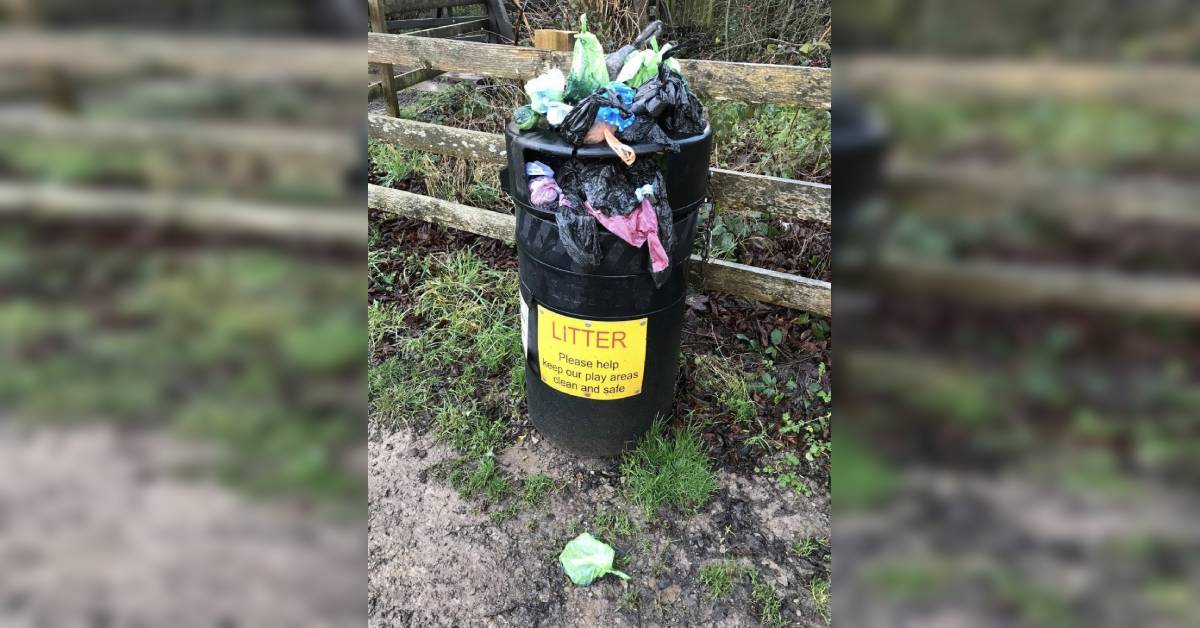 Discarded dog poo bags leaving Harrogate 'disgusted'