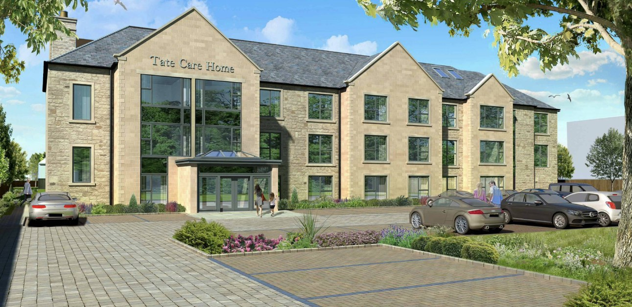 Artist impressions of the Tate House plans which have been approved by Harrogate Borough Council.