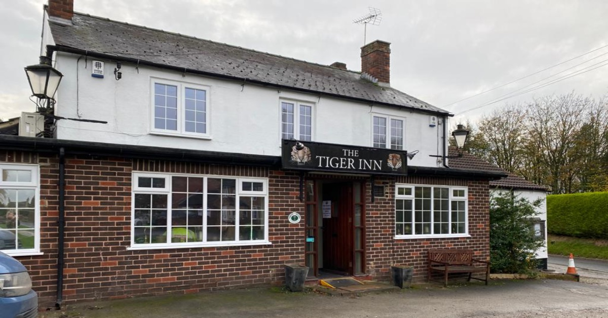 The Tiger Inn pub, Coneythorpe.