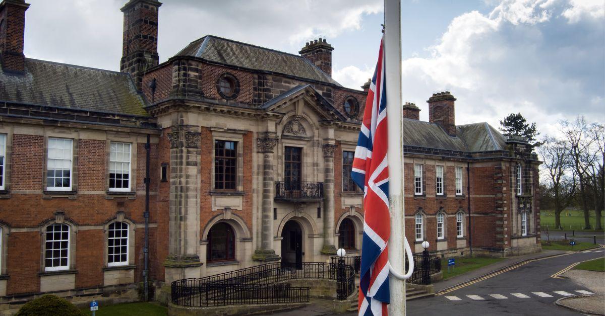 county hall flag