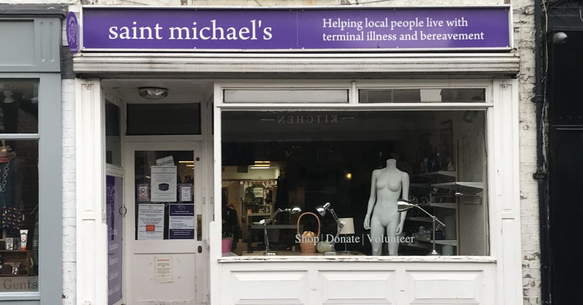 Saint Michael's and Cancer Research UK shops reopen locally