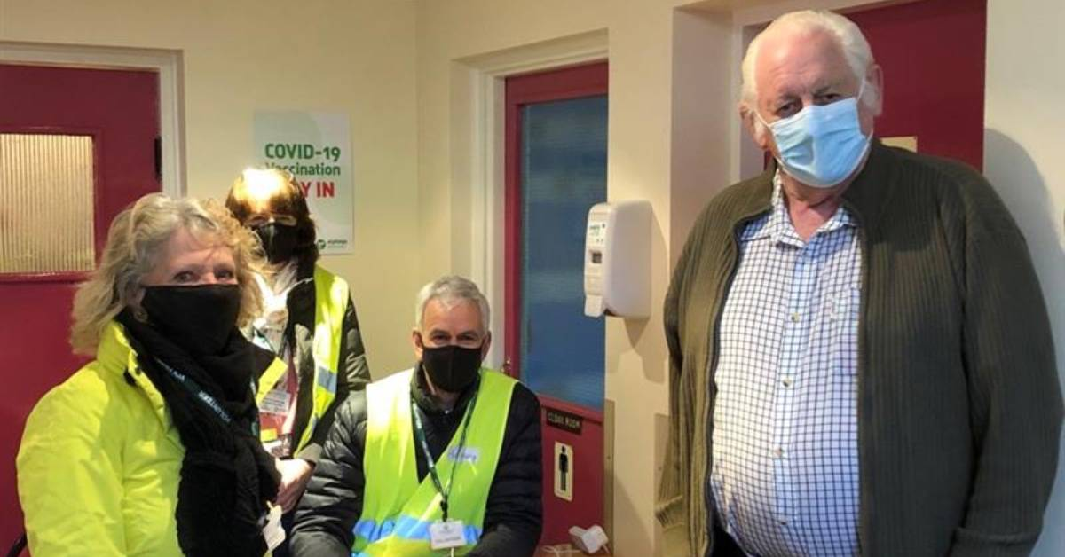 'It's been superb': Nidderdale welcomes Pateley Bridge vaccination centre