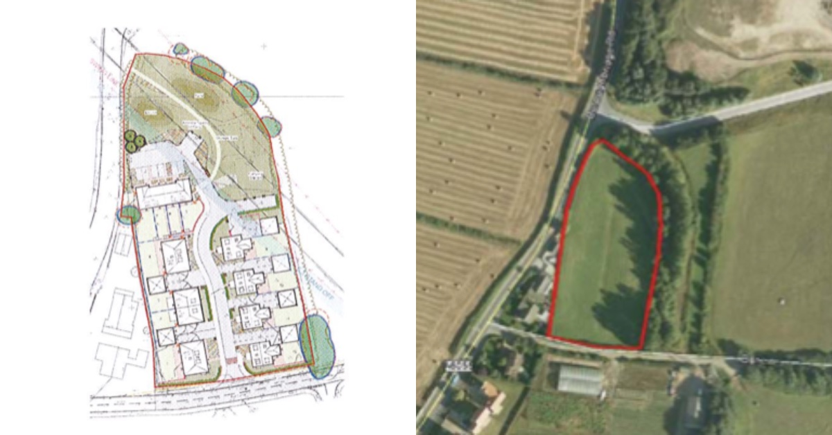 Final plans for 12 homes in Knaresborough submitted