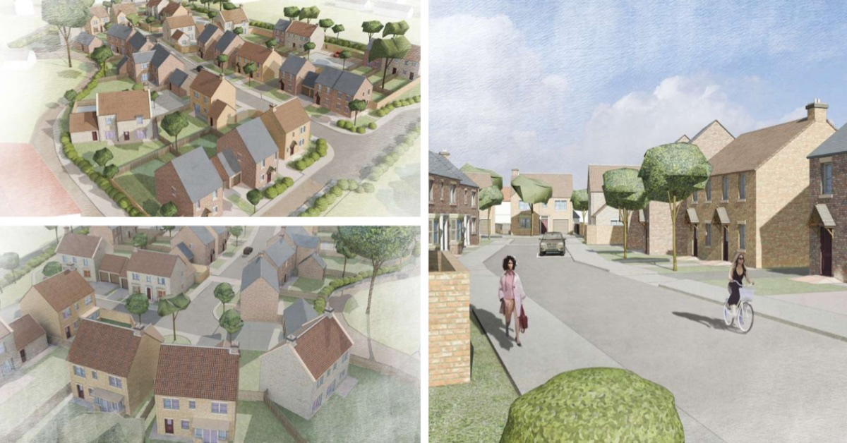 Plans submitted to build 28 homes in Bishop Monkton