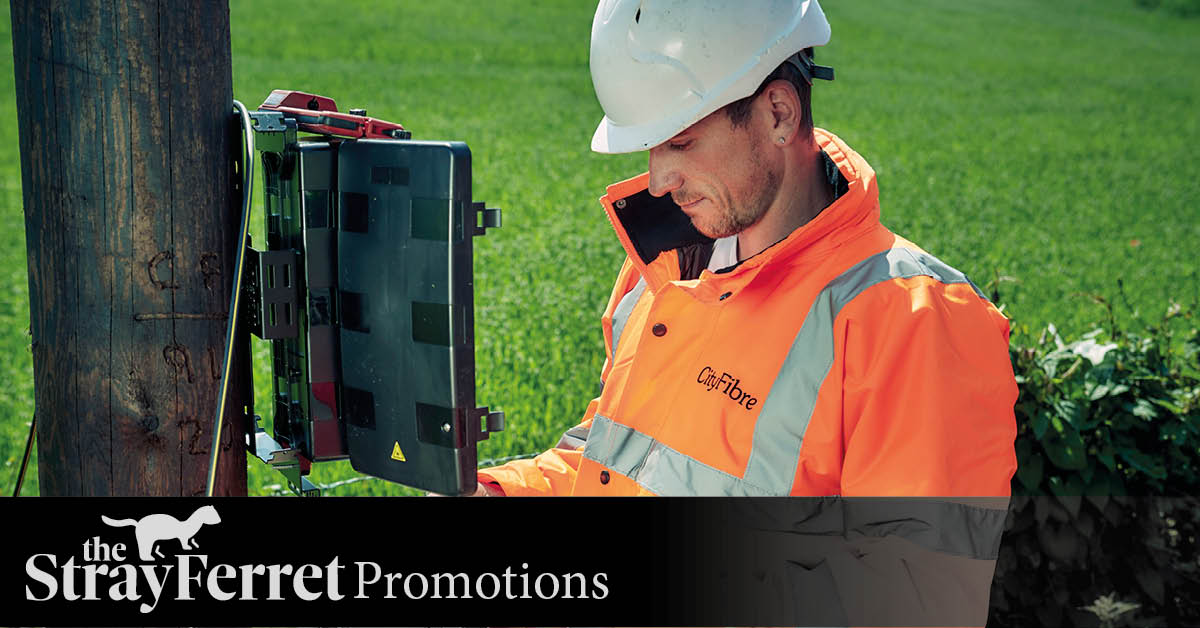 Brilliantly fast full fibre broadband is coming to the Harrogate district