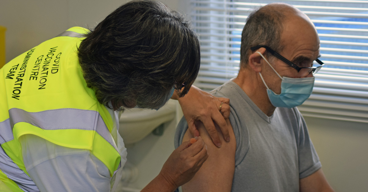 'Let's crack on': Knaresborough and Pateley vaccine sites reopen