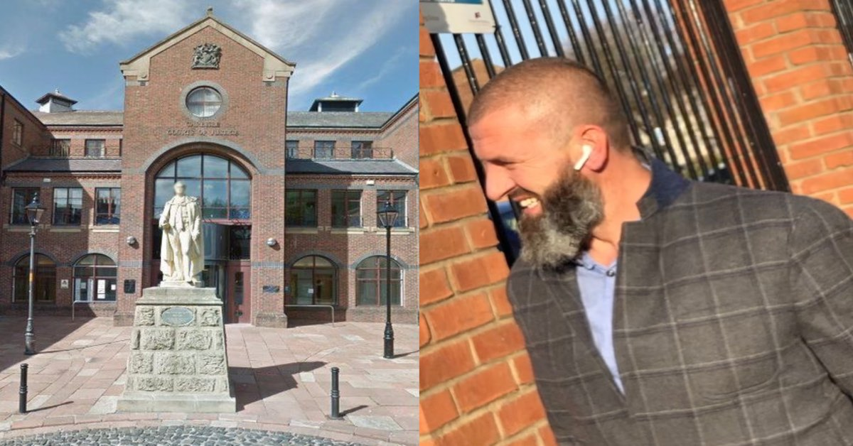 Defrim Paci (pictured) appeared at Carlisle Crown Court today.