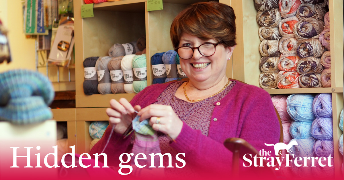 'Hidden gem' Knaresborough knitting shop stocks more than wool