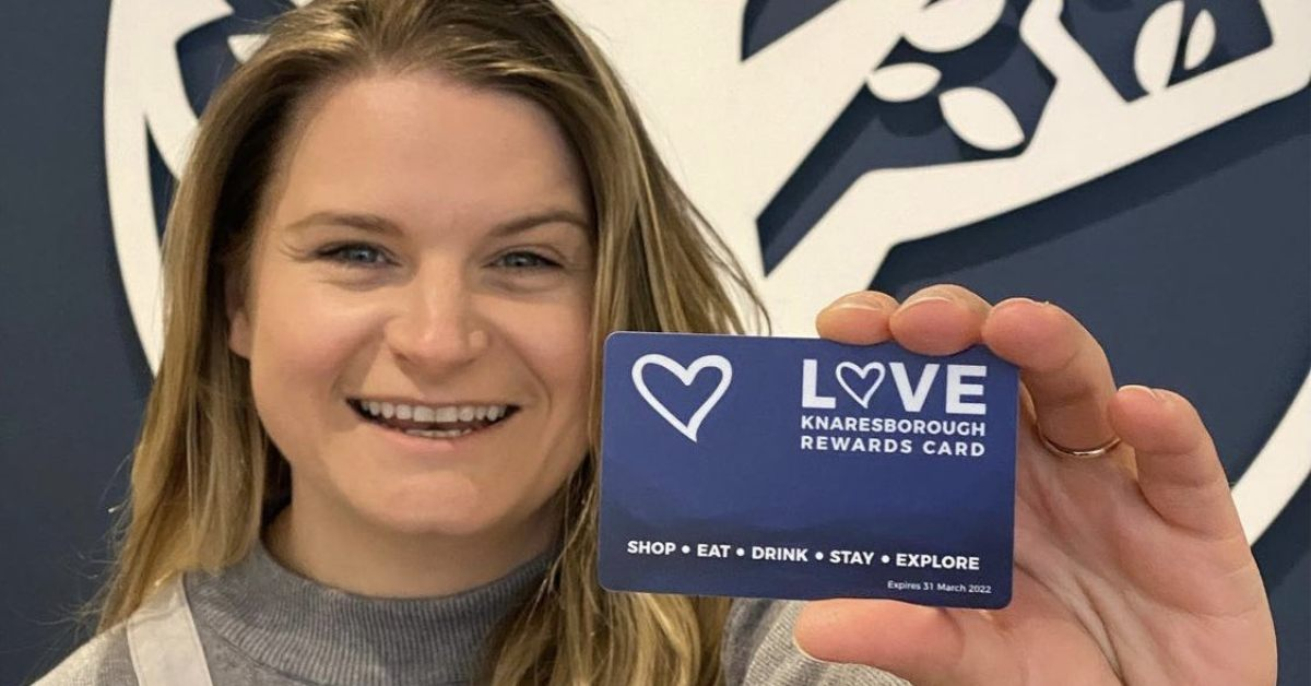 Rewards card launches today to boost Knaresborough economy
