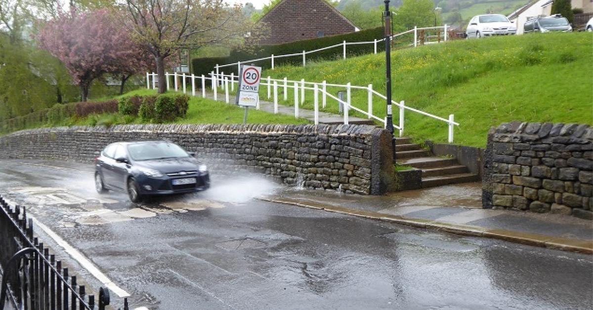 Pateley Bridge leaking drain causing safety risk, says resident