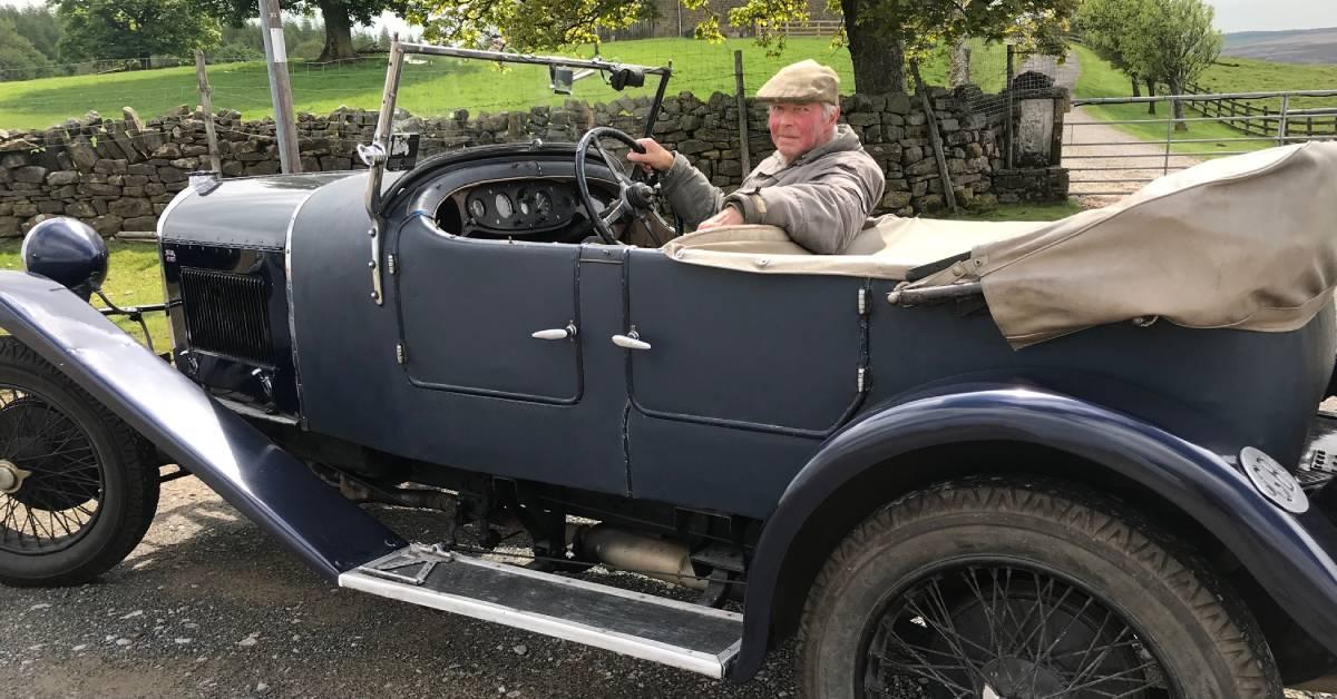 A motoring milestone for Ripon man's rare vintage car