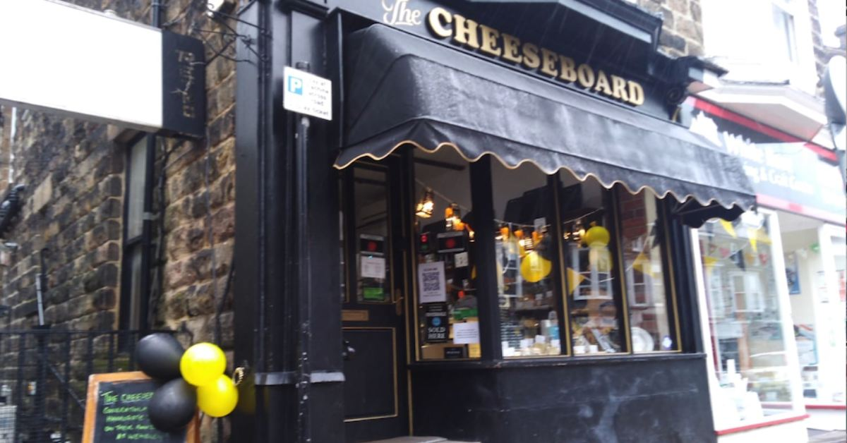 The Cheeseboard on Commercial Street