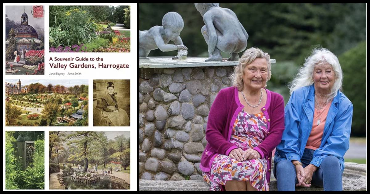 Authors celebrate Valley Gardens' journey from springs to scenic spot