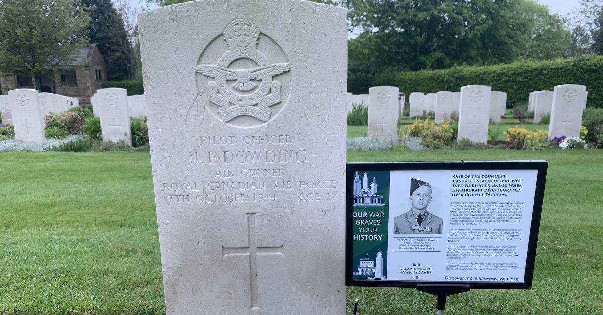 Hundreds attend free war graves tours at Harrogate's Stonefall cemetery