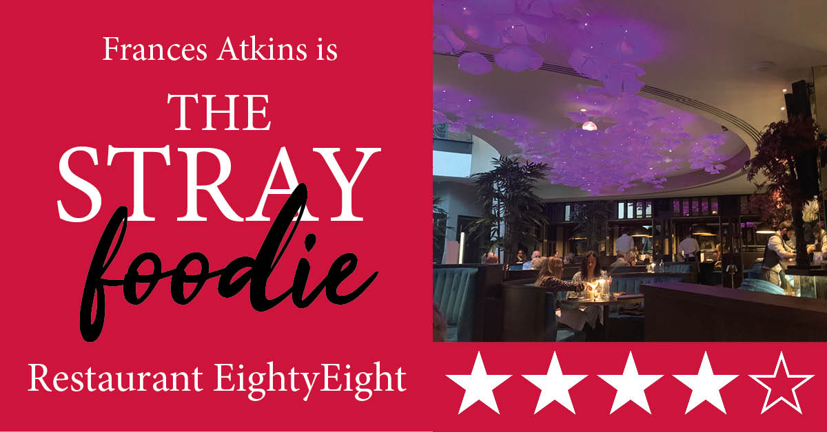 Stray Foodie: Restaurant EightyEight, Grantley Hall review
