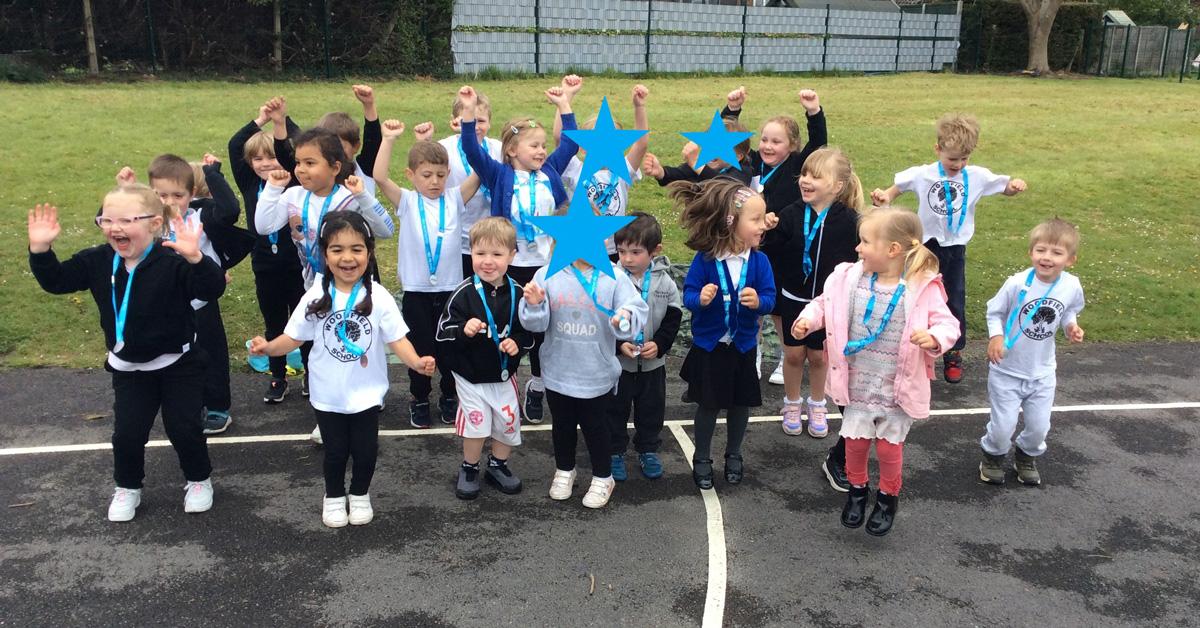 Harrogate primary school raises 10 times charity target